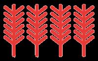 Logos 4 épis des gites de france
